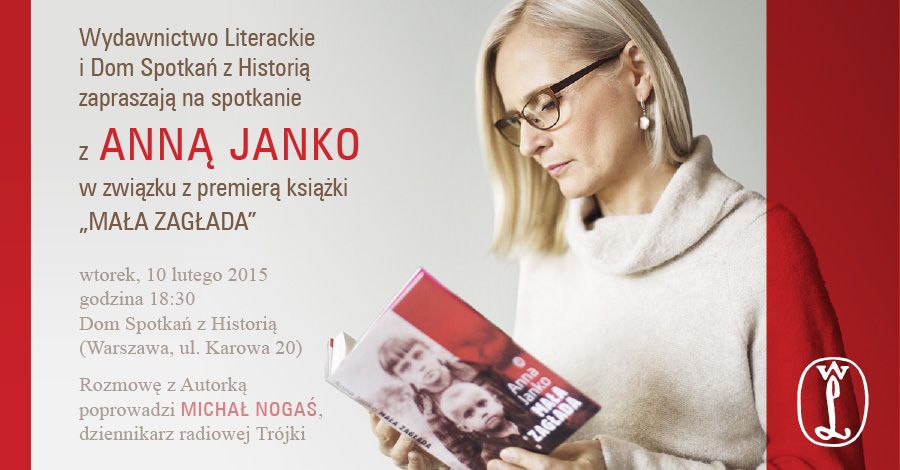 Zaproszenie na spotkanie z Anną Janko